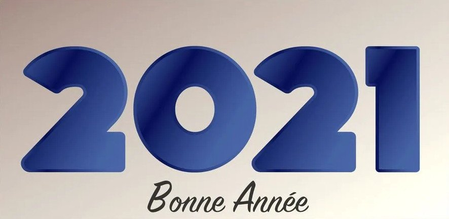 L'anizienne vous souhaite une bonne année 2021